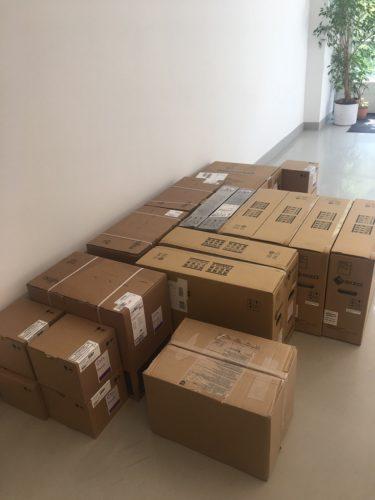Pakete mit Hardware