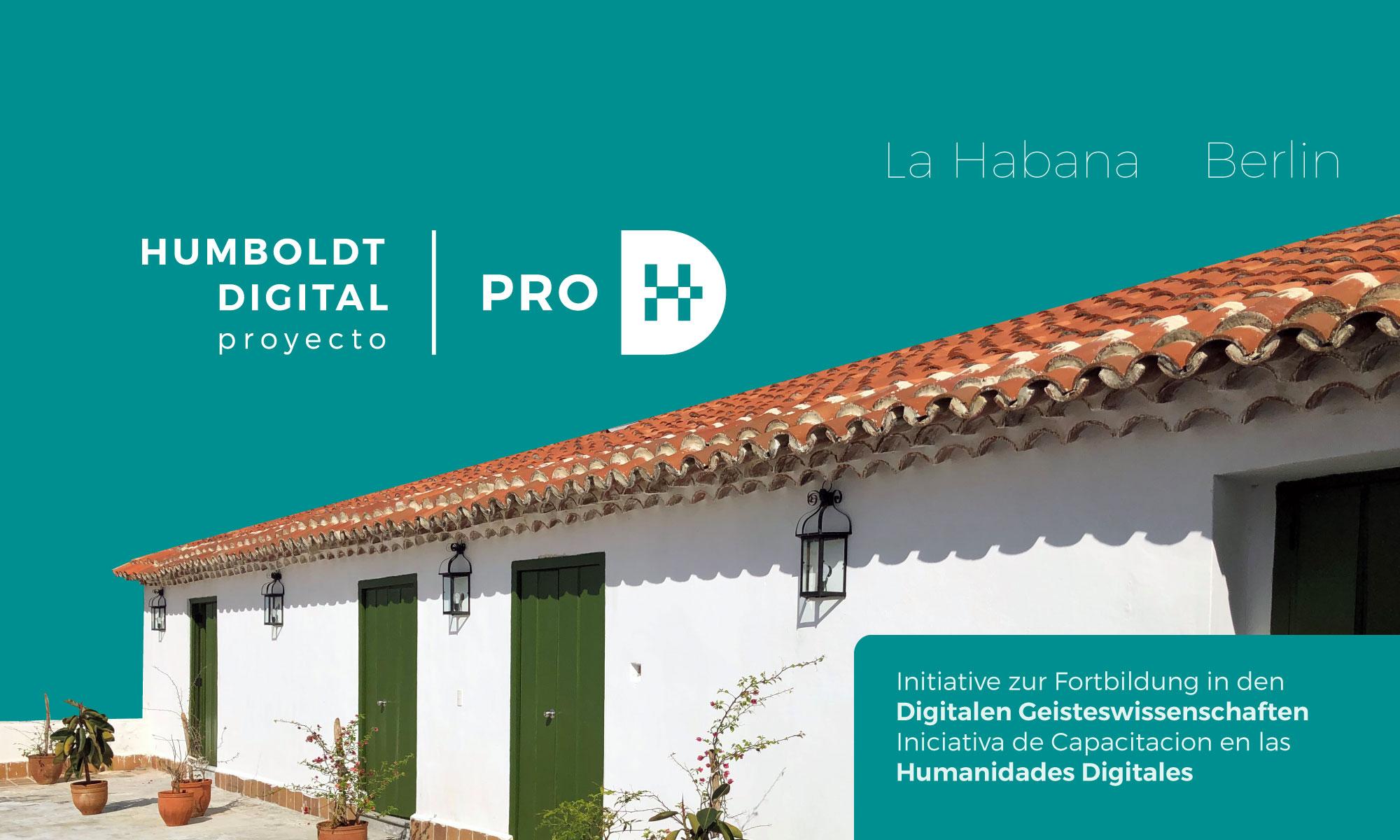 Proyecto Humboldt Digital (ProHD)